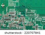 it is electronic circuit for... | Shutterstock . vector #220707841