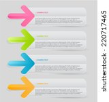infographics template for...   Shutterstock .eps vector #220717465