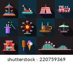 set of vector flat design... | Shutterstock .eps vector #220759369