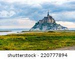 View At The Mont Saint Michel...