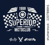 Emblem Of The Motorcycle Club...