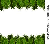 christmas background with... | Shutterstock .eps vector #220813837