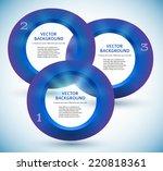 modern design infographic style ... | Shutterstock .eps vector #220818361