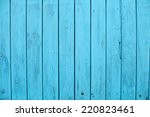 blue old wooden background... | Shutterstock . vector #220823461