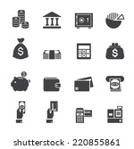 money and finance icon | Shutterstock .eps vector #220855861