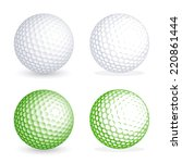Two Hi Detail Golf Balls  One...