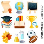 vector illustration   education ... | Shutterstock .eps vector #22091317
