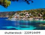 greece. ionian islands  ... | Shutterstock . vector #220914499