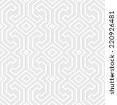 seamless vintage gray pattern.... | Shutterstock .eps vector #220926481