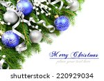 christmas decorations and... | Shutterstock . vector #220929034