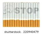 stop smoking | Shutterstock . vector #220940479