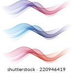 abstract waves | Shutterstock .eps vector #220946419
