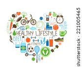 healthy lifestyle  diet and