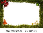 christmas still life isolated... | Shutterstock . vector #2210431