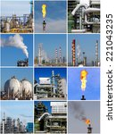 Collage Of Industrial Photos