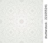 luxury floral damask wallpaper. ... | Shutterstock .eps vector #221055241