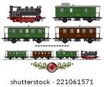 a side illustration of vintage... | Shutterstock .eps vector #221061571