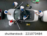 car cleaning at its best | Shutterstock . vector #221073484