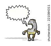 cartoon robot | Shutterstock .eps vector #221084311
