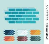 Flat Design  Brick