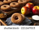 Warm Apple Cider Donuts Ready...