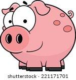 cartoon illustration of a happy ... | Shutterstock .eps vector #221171701