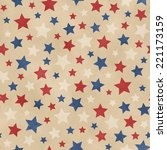 seamless faded star pattern | Shutterstock . vector #221173159
