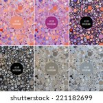 vector abstract backgrounds... | Shutterstock .eps vector #221182699