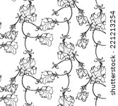 vector seamless pattern with... | Shutterstock .eps vector #221213254