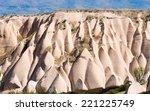 typical rock formations in... | Shutterstock . vector #221225749