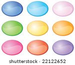 web shiny buttons 2 | Shutterstock .eps vector #22122652