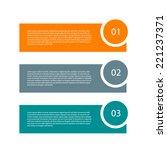 modern design template. can be... | Shutterstock .eps vector #221237371