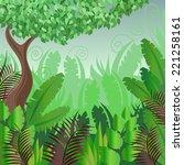 vector landscape   Shutterstock .eps vector #221258161
