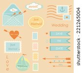 Wedding Postal Stamps Set Of...