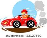 race car driver | Shutterstock . vector #22127590