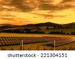 solar energy panels | Shutterstock . vector #221304151