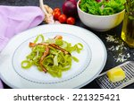 Italian Spinach Pasta With...