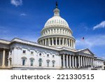 the united states capitol... | Shutterstock . vector #221330515