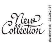 new collection hand lettering