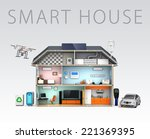 home automation concept. add... | Shutterstock . vector #221369395