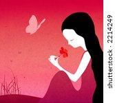 grunge fantasy illustration  ... | Shutterstock . vector #2214249