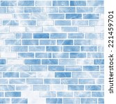 ice pattern. seamless... | Shutterstock . vector #221459701
