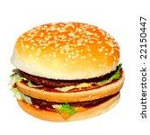 hamburger | Shutterstock . vector #22150447