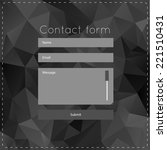 simple contact us form...