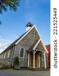 Old Wooden Church Canadian Or...