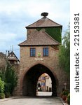 Old Entry Gate To The Dambach...