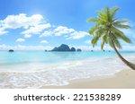 Beautiful Beach Background.