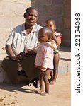 african family  grandmother and ... | Shutterstock . vector #22154068