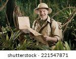 Cheerful Vintage Explorer In...