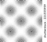 seamless dot pattern  | Shutterstock .eps vector #221555959